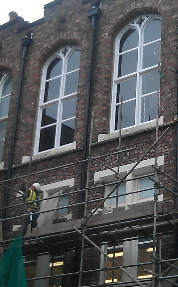 Bespoke windows – University Liverpool .Replacement of grade 2 listed window frames to mach existing